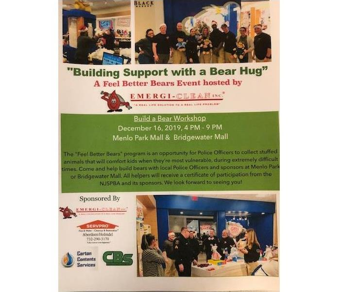 Flyer with information about the Feel Better Bears program