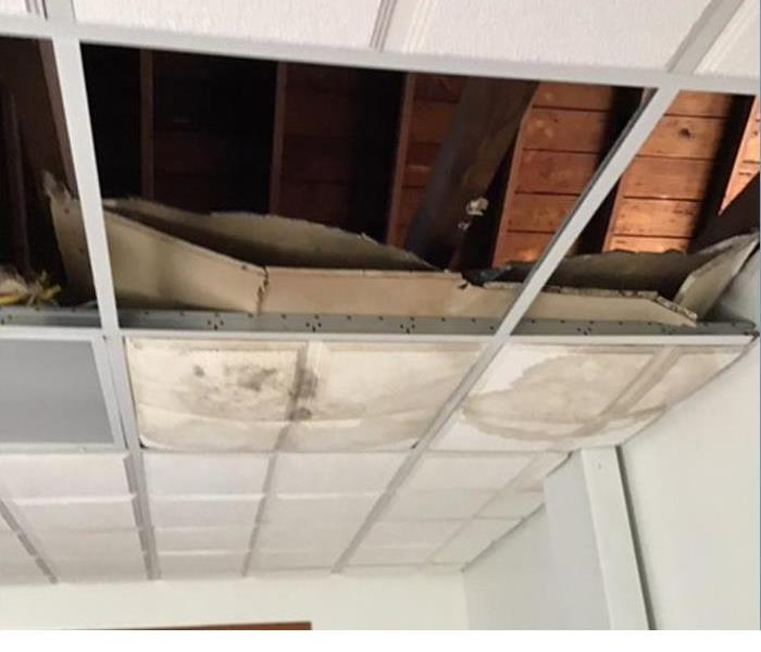 Hazlet Church Thrift Store Roof Damage & Flooding