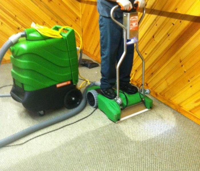 Water Damage - Carpet Extraction