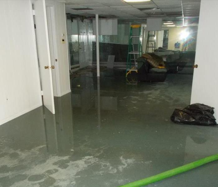 Water Damage - Hall